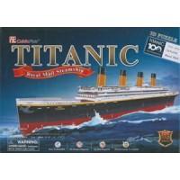 Cubic Fun Titanic 3D Puzzle 113 Parça