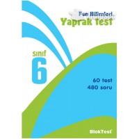 6. SINIF FEN BİLİMLERİ YAPRAK TESTİ (60 ADET)
