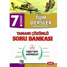 7. Sınıf Tüm Dersler Tamamı Çözümlü Soru Bankası