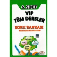 6. Sınıf VIP Tüm Dersler Soru Bankası
