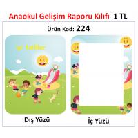 Yeni - Anaokulu Gelişim Raporu Kılıfı 224