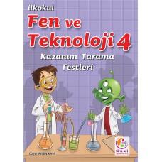 4. SINIF FEN VE TEKNOLOJİ KAZANIM TARAMA TESTLERİ
