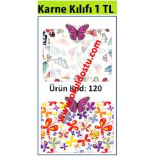 Karne Kılıf Kod: 120, Kelebekler
