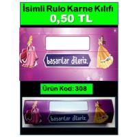 İsimli Rulo Model Karne Kılıfları 308