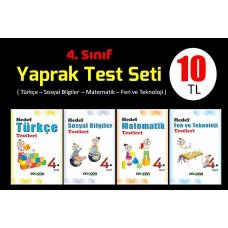 4. Sınıf Yaprak Test Seti