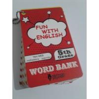 5. Sınıf Fun With English WORD BANK ( Resimli İngilizce Kelime Kartları)