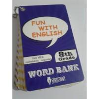 8. Sınıf Fun With English WORD BANK ( Resimli İngilizce Kelime Kartları)