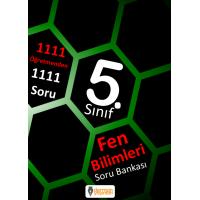 5. Sınıf Fen Bilimleri Soru Bankası  Derman Yayınları