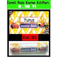 İsimli Rulo Model Karne Kılıfları 301