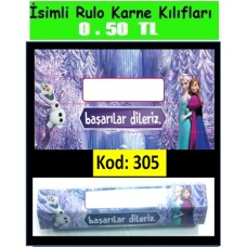 İsimli Rulo Model Karne Kılıfları 305