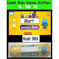 İsimli Rulo Model Karne Kılıfları 303