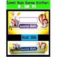 İsimli Rulo Model Karne Kılıfları 306