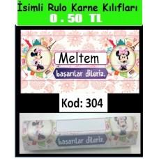 İsimli Rulo Model Karne Kılıfları 304