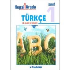 1. Sınıf Hepsi Bir Arada Türkçe - Dil Bilgisi İle Birlikte