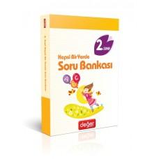 2. Sınıf Hepsi Bir Yerde Soru Bankası - Hayat Bilgisi - Türkçe - Matematik -