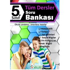 5. Sınıf Tüm Dersler Soru Bankası - Derman Yayınları